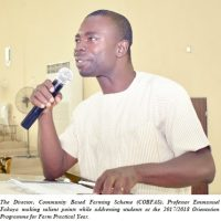 FUNAAB Committed to Food Security in Nigeria – DVC (D)