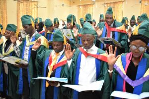 CPN Inducts 53 FUNAAB Computer Science Graduates