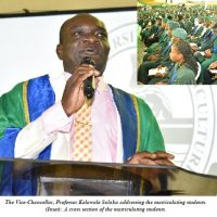 FUNAAB Matriculates 3,807 Students Holds Commencement Lecture … Our new students are among the best – VC