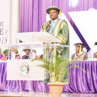CU 13th Convocation  FUNAAB's VC Represents Education Minister  …As Minister Urges the University to Consolidate on its Gain