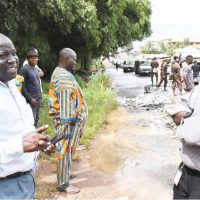 FLOODING OF FUNAAB END OF ALABATA ROAD:  There Is No Cause For Alarm … We've carried out paliative measure – Ag. Director of Works