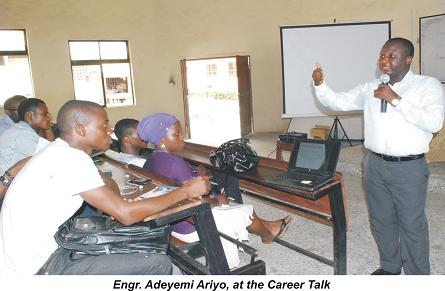 COLENG Organizes Career Talk for Students