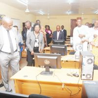 …Inspects Newly Installed Facilities