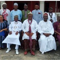 University High Powered Delegation Visits Chancellor … Seeks His Approval for FUNAAB's 26th Convocation Ceremony