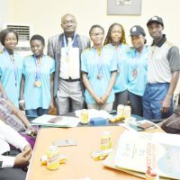 VC Welcomes FUNAAB WAUG Heroes …Presents Medals, Commends Athletes