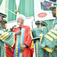 CONVOCATION CEREMONY: DAY TWO: FUNAAB Is My Last Honorary Degree FUNAAB Is A Beautiful Closure for Me …I'm Done with Academic Honors — Prof. Wole Soyinka