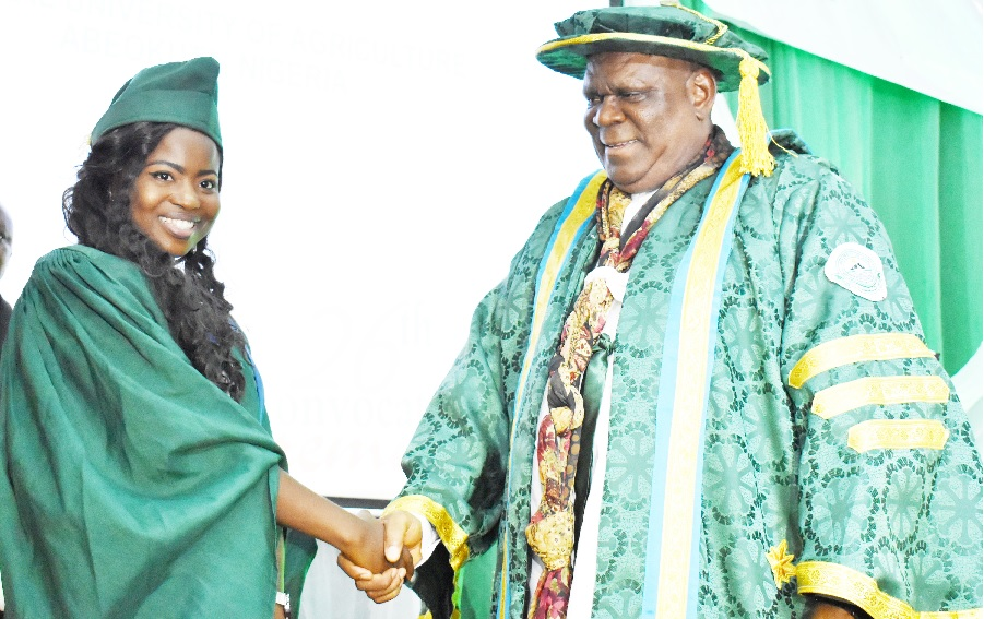 I Never Thought I Could Reach This Academic Height - FUNAAB Best Graduating Student