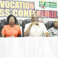 CONVOCATION PRESS CONFERENCE: Media is Essential to Nation Building – FUNAAB VC