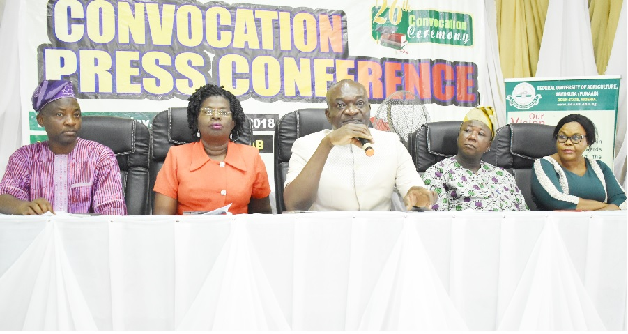 Media is Essential to Nation Building - FUNAAB VC