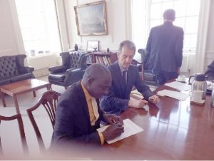 FUNAAB Signs MoU With Greenwich University …Commences another with Copenhagen University