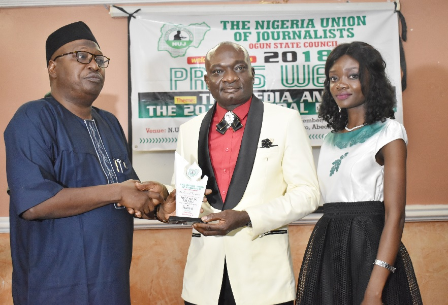 NUJ Ogun State Council Honours FUNAAB VC