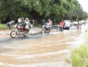 VC Inspects On-going Road Rehabilitation, …Expresses Satisfaction with Level of Work