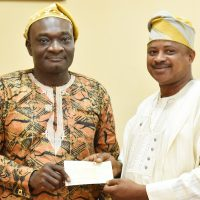 Alumni Boosts Exams & Records with Additional N500k …Pledges Another N500,000 for FUNAAB Green Heritage