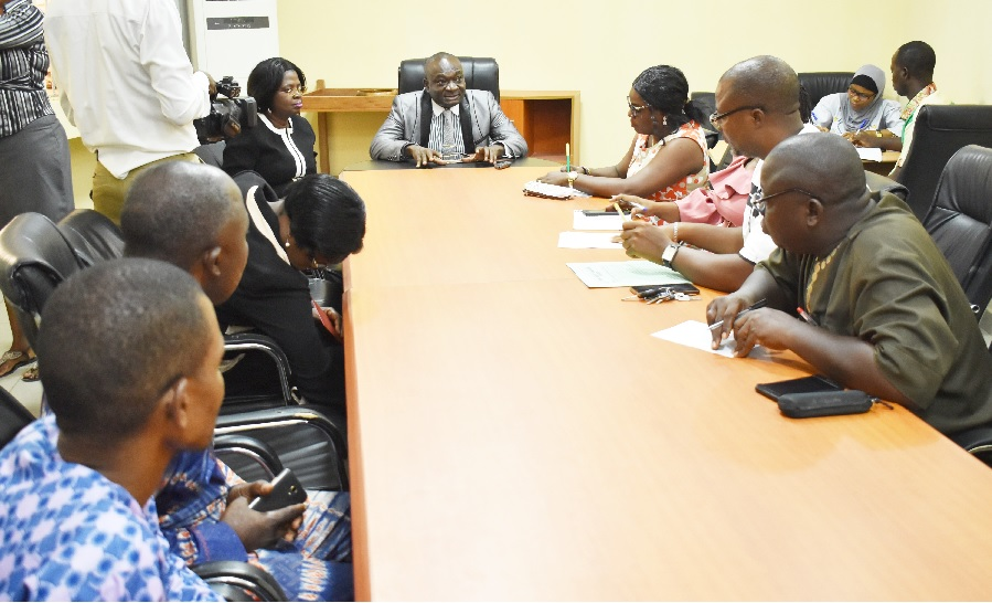 Rehabilitated FUNAAB-Alabata Road: VC Meets NURTW, ACCOMORAN and Other Stakeholders ...Charges Sensitization of Drivers, Okada Riders, Other Road Users