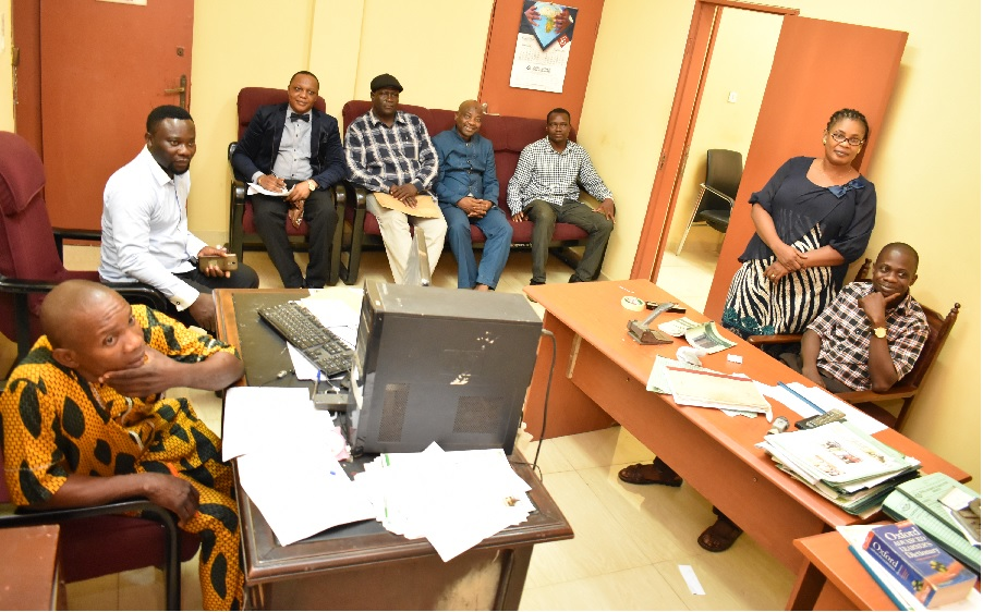FUNAAB Staff Watch VC Live On Campus It is a national honour — DVC (D)