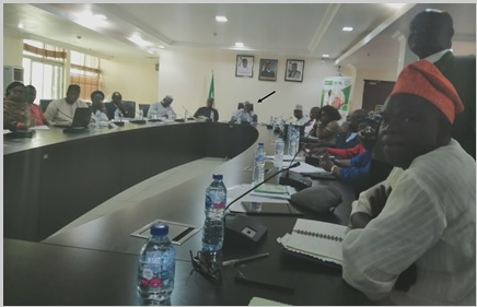 VC Calls for Restoration of COLMAS at Ministerial Briefing