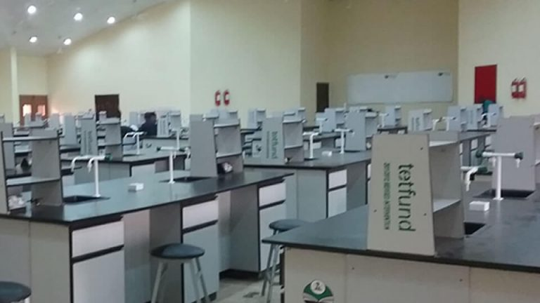 Supply and Installation of Furniture and Fittings for 250 Seater Chemistry Laboratory – View 1