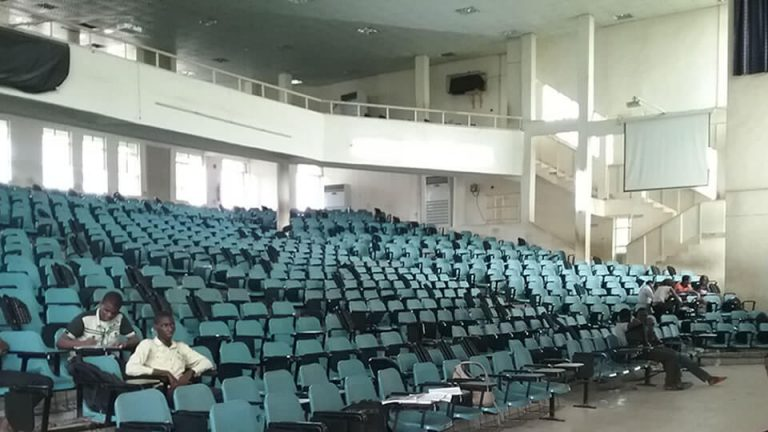 Supply & Installation Of Lecture Theatre Seats At The 2000 Capacity Lecture Theatre (Prof Mahmud Yakubu Lecture Theatre) - View 1
