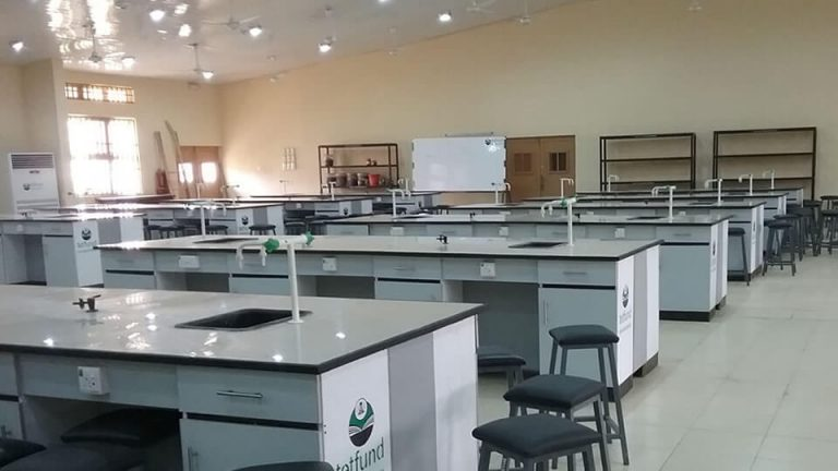 Supply and Installation of Furniture and Fittings for 250 Seater Biology Laboratory – View 1