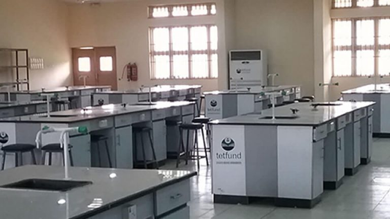 Supply and Installation of Furniture and Fittings for 250 Seater Biology Laboratory – View 2