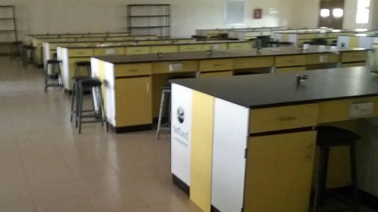 Supply and Installation of Furniture and Fittings for 250 Seater Physics Laboratory – View 2