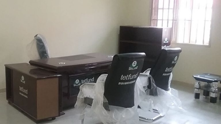 Supply and Installation of Office Furniture to Science Laboratory Complex – View 1