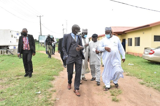 House of Representatives Committee Members on Agricultural Institutions Visit FUNAAB