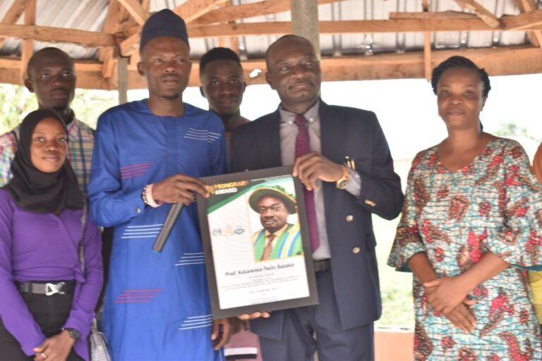 VC Harps on Continuity, Completion of Inherited Projects as Panacea to Lasting Success …Advises Students to be Conscious of their Mental Health