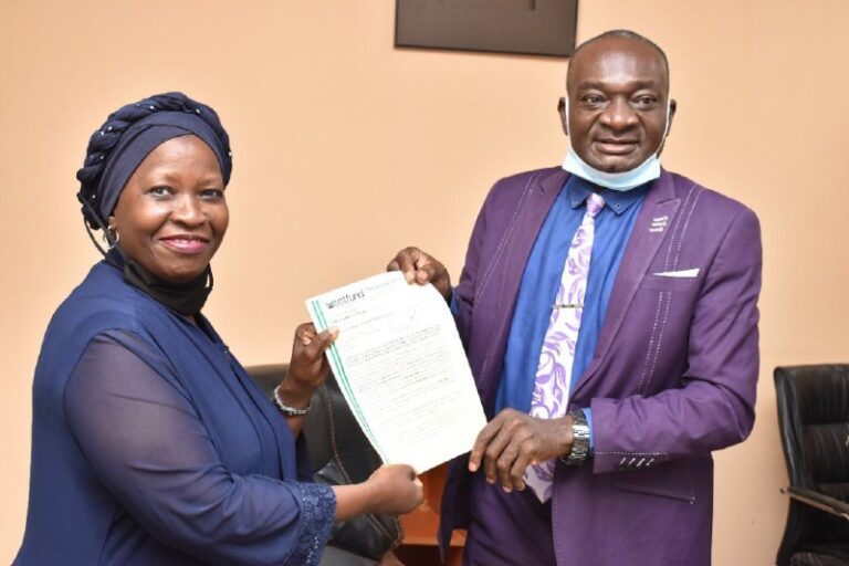 2020 TETFund NRF Intervention: VC Harps on Accountability …Presents Letters of Award to Beneficiaries